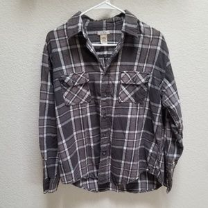 Arizona Gray/Black Flannel